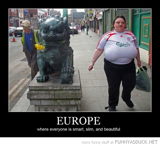 fat ugly woman liverpool shirt football soccer europe funny pics ...