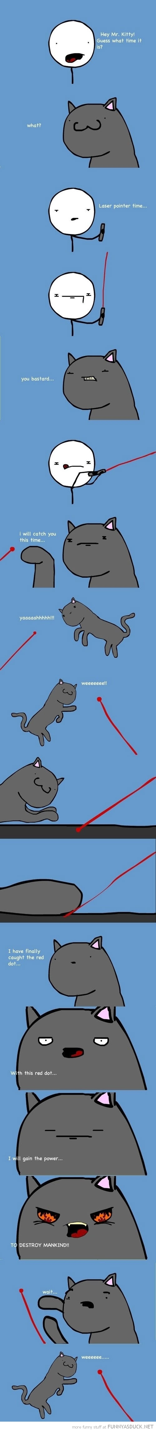 finally caught red dot cat animal lolcat comic funny pics pictures pic picture image photo images photos lol