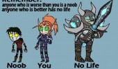 gaming comic anyone worse noob better no life remember funny pics pictures pic picture image photo images photos lol