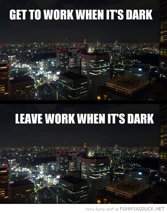 winter go work dark home funny pics pictures pic picture image photo images photos lol