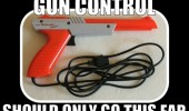 gun control this far gaming nintendo nes zapper duck hunt funny pics pictures pic picture image photo images photos lol