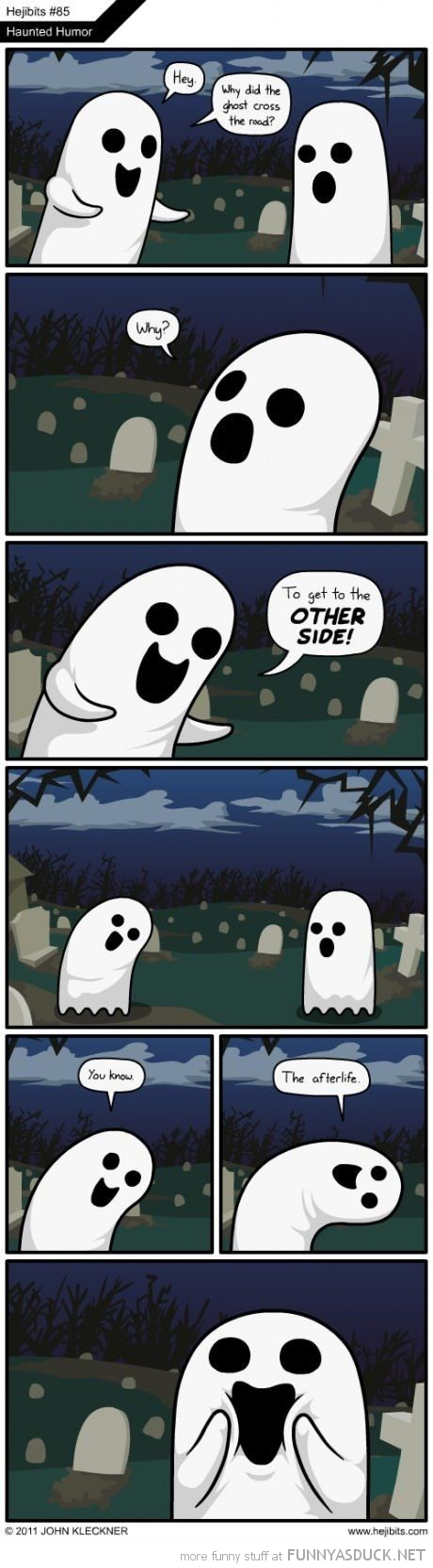 haunted humor comic ghost joke other side after life funny pics pictures pic picture image photo images photos lol