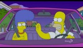 homer marge simpson tv scene thats what she said lenny on fire funny pics pictures pic picture image photo images photos lol