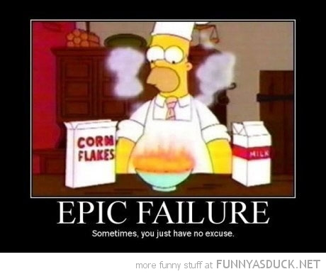 homer simpson tv burn cornflakes fire epic failure funny pics pictures pic picture image photo images photos lol