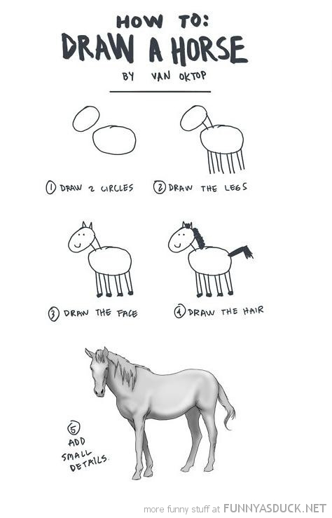 how to draw horse comic small details funny pics pictures pic picture image photo images photos lol