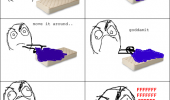 making bed fitted sheet rage comic meme funny pics pictures pic picture image photo images photos lol