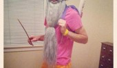 man costume dora dumbldore harry potter dressued up tv funny pics pictures pic picture image photo images photos lol