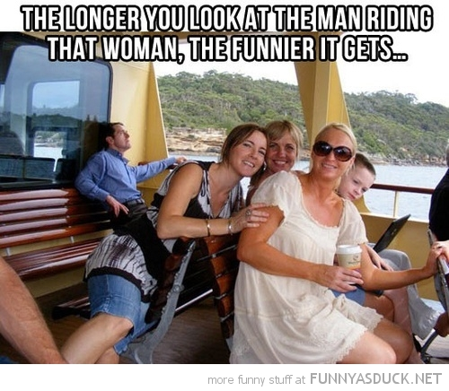 man riding woman longer look funnier gets funny pics pictures pic picture image photo images photos lol