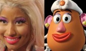 nicki manaj mre potato head lookalike funny pics pictures pic picture image photo images photos lol