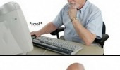 old man senior citizen computer pc elder scrolls gaming funny pics pictures pic picture image photo images photos lol