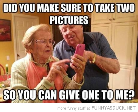 old people iphone mobile senior citizens take two give me one funny pics pictures pic picture image photo images photos lol