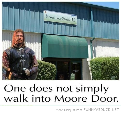 sone does not simply meme walk moore door mordor lord rings funny pics pictures pic picture image photo images photos lol