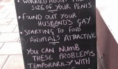 pub bar sign blackboard help of booze drink funny pics pictures pic picture image photo images photos lol