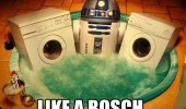 r2-d2 starwars hot tup jacuzzi washing machines like a bosch funny pics pictures pic picture image photo images photos lol