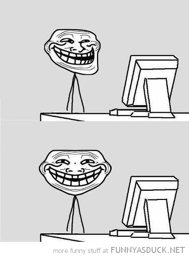 troll face front view rage comic meme computer guy funny pics pictures pic picture image photo images photos lol