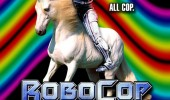 robocop and unicorn spoof film movie poster funny pics pictures pic picture image photo images photos lol
