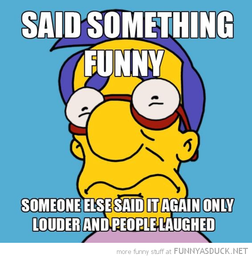 millhouse simpsons said something somebody else louder laughed funny pics pictures pic picture image photo images photos lol