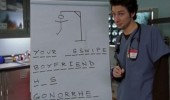 scrubs tv scene jd hangman asswipe boyfriend funny pics pictures pic picture image photo images photos lol