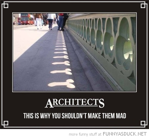 shouldn't make architects mad bridge penis dick shaped holes shadow sun funny pics pictures pic picture image photo images photos lol