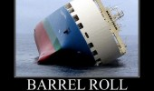 sinking boat barrel roll not always best solution funny pics pictures pic picture image photo images photos lol