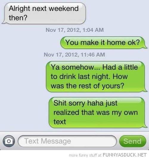 sms text iphone answered own message drunk funny pics pictures pic picture image photo images photos lol