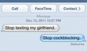sms text iphone stop texting girlfriend cockblocking funny pics pictures pic picture image photo images photos lol