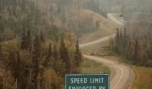 speed limit enforced by snipers road sign shit got serious funny pics pictures pic picture image photo images photos lol