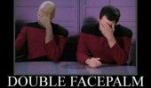 star trek picard tv movie double facepalm funny pics pictures pic picture image photo images photos lol
