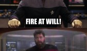 fire at will star trek tv scene show picard sci fi funny pics pictures pic picture image photo images photos lol