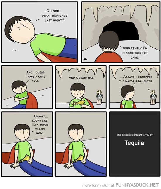 super villain comic tequila funny pics pictures pic picture image photo images photos lol
