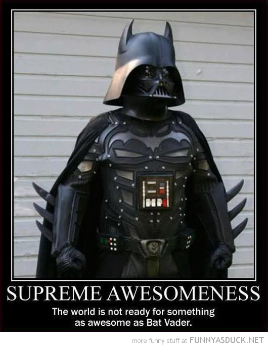 darth batman bat vader star wars supreme awesomeness movie funny pics pictures pic picture image photo images photos lol