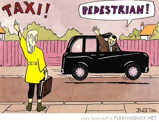woman shouting taxi comic pedestrian funny pics pictures pic picture image photo images photos lol