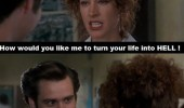 ace ventura jim carrey movie film make live hell relationship funny pics pictures pic picture image photo images photos lol