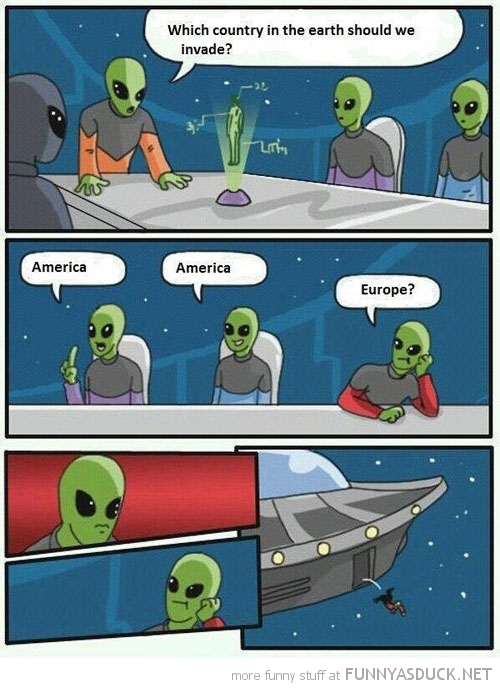 aliens invade america europe comic meme funny pics pictures pic picture image photo images photos lol