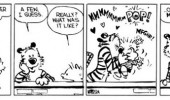 calvin hobbes comic kissed a girl funny pics pictures pic picture image photo images photos lol