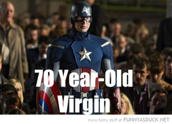 captain america avengers super hero 7o year old virgin funny pics pictures pic picture image photo images photos lol