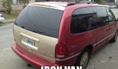 car gold red iron van man tv film funny pics pictures pic picture image photo images photos lol