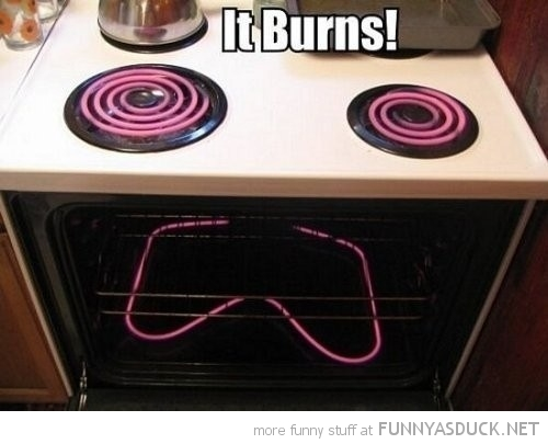 cooker hob stove face sad it burns funny pics pictures pic picture image photo images photos lol