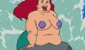 disney not so little mermaid fat arial movie film funny pics pictures pic picture image photo images photos lol