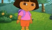 dora explorer don't know whats more awkward answering siting silence staring tv funny pics pictures pic picture image photo images photos lol