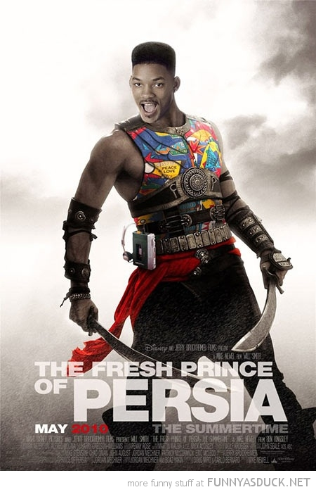 fresh prince of bel air persia will smith movie poster funny pics pictures pic picture image photo images photos lol