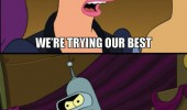 futurama leela bender tried best stupid tv funny pics pictures pic picture image photo images photos lol