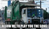 garbage trash bin men sleep in day off sing song people funny pics pictures pic picture image photo images photos lol