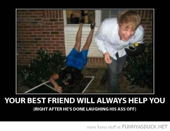girl falling steps best friends be there for you laughing funny pics pictures pic picture image photo images photos lol