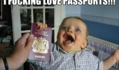 happy kid baby boy fucking love passports funny pics pictures pic picture image photo images photos lol