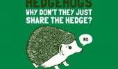 hedgehogs why don't share hedge no comic funny pics pictures pic picture image photo images photos lol