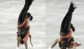 ice skaters falling pile driver head finish him mortal kombat funny pics pictures pic picture image photo images photos lol