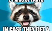 lame pun coon meme golfer two pairs pants hole one joke funny pics pictures pic picture image photo images photos lol