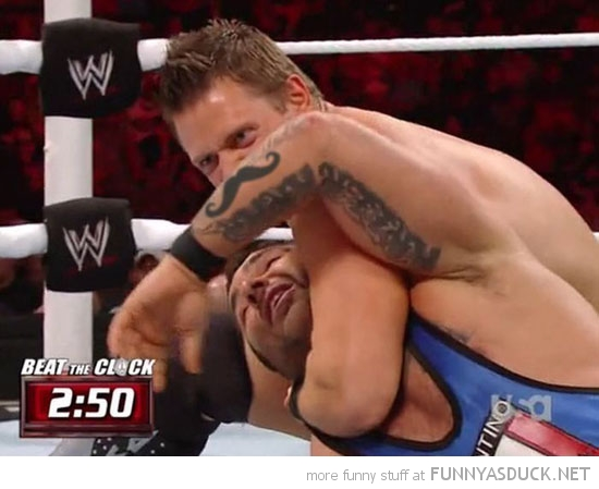 mustache tattoo arm wrestler wrestling wwe funny pics pictures pic picture image photo images photos lol