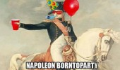 napoleon borntoparty horse hat balloons funny pics pictures pic picture image photo images photos lol